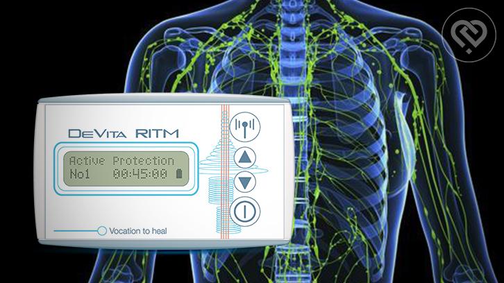 Programs of DeVita Ritm Base: Pure lymph