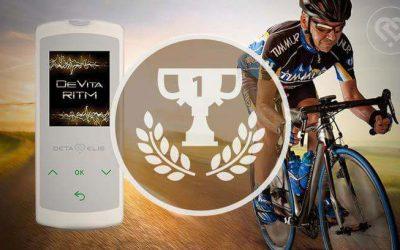 Complex 'Sport performers' on the new DeVita Ritm Mini device.